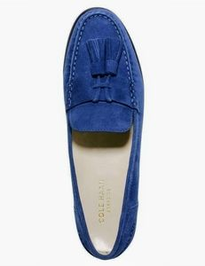 Blue Suede Cole Haan Shoes